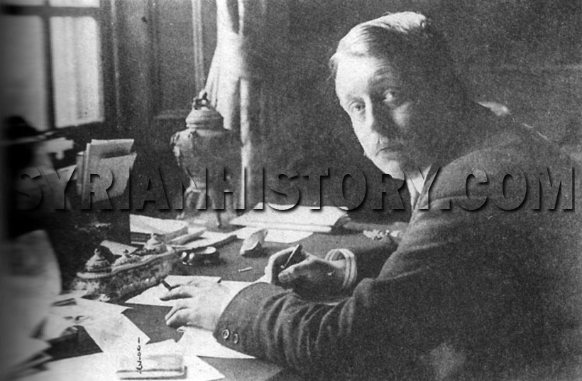 Syrian History Sir Mark Sykes Co Author Of The Sykes Picot